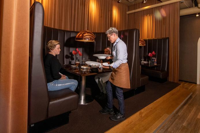 Restaurant Bluefinger in Hotel Lumen in Zwolle.