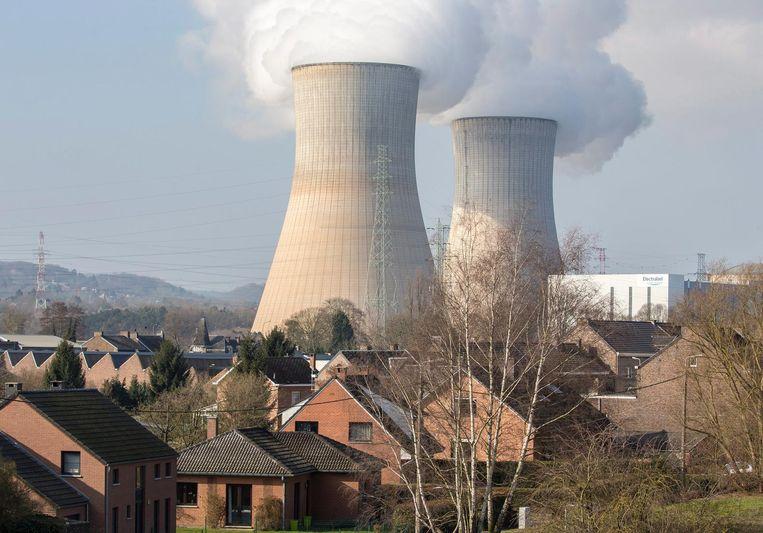 Archieffoto van de kerncentrale Tihange in België. Beeld anp