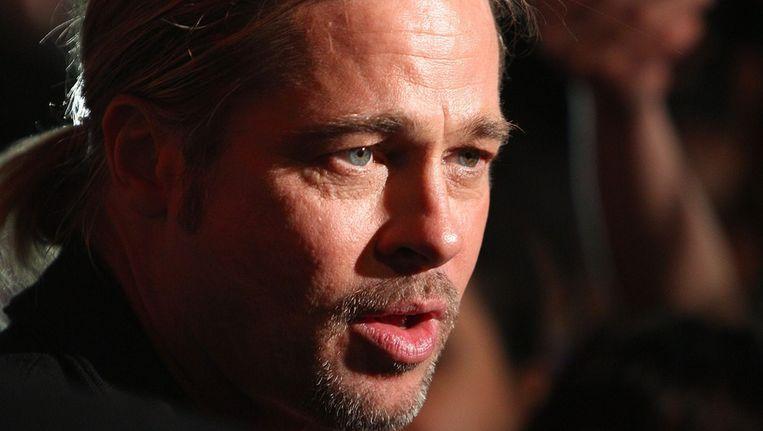Het baardje van Brad Pitt. Beeld afp