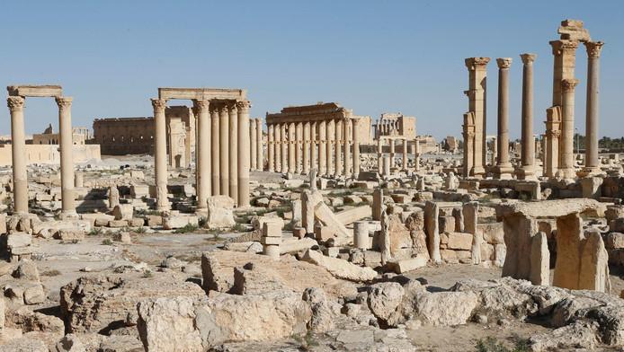 De ruïnes van het Romeinse Palmyra