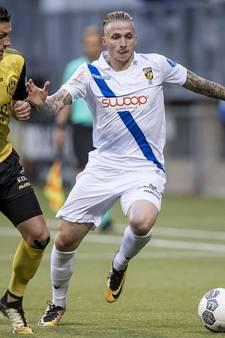 Koploper Vitesse wint ook bij Roda JC