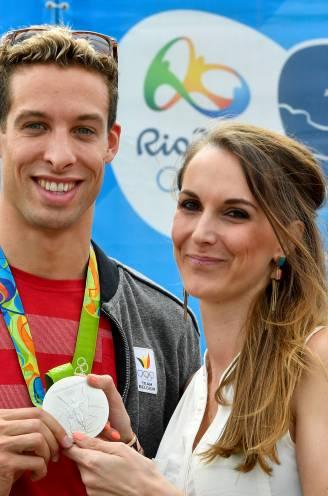 """Elle De Leeuw, de vrouw van Pieter Timmers in 'Uit De Schaduw': """"Zijn zilveren medaille is misschien ook voor een klein procentje mijn verdienste"""""""