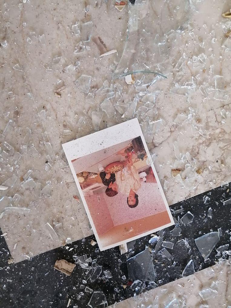Ook de Arab Image Foundation liep bij de explosie zware schade op. Beeld Arab Image Foundation
