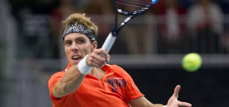 Scott Griekspoor grijpt nationale tennistitel: 'Een mooie prijs'