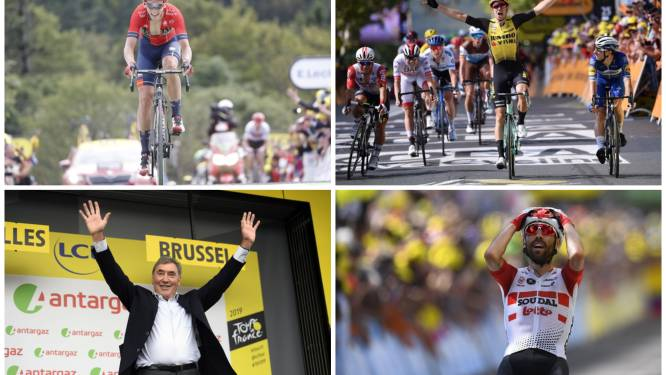 Tien straffe momenten uit de Tour op een rij. Wat is uw hoogtepunt?