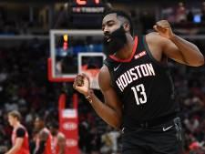 Rockets blijven winnen, James Harden op dreef