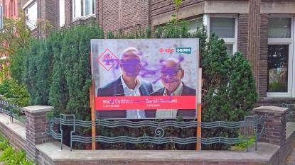 Verkiezingsbord sp.a/Groen voor tweede maal gevandaliseerd