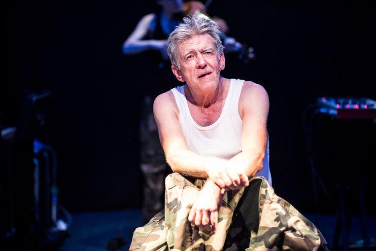 Wachten op Macbeth van Theatergroep NOX, met Bartho Braat. Beeld null