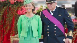 Prinses Claire komt niet naar nationale feestdag