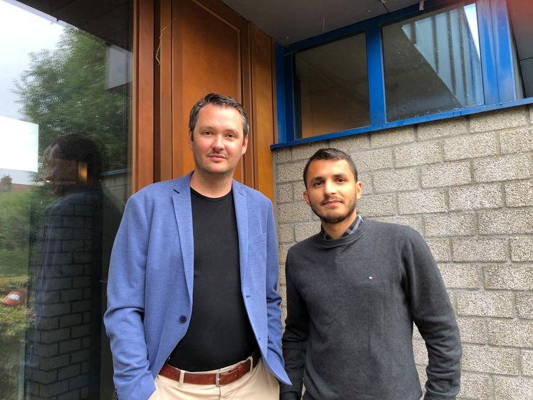 Dimitri Vierstraete en Mohsin Abbas zetten hun schouders onder Comedy Oostende.