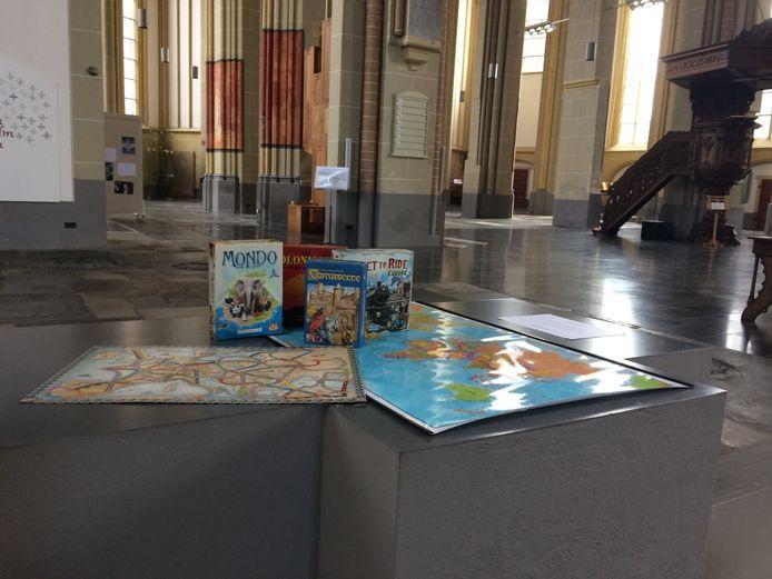 Spelenderwijs leren over de wereld en haar geschiedenis, het kan nog van woensdag tot en met zaterdag in de Zutphense Walburgiskerk.