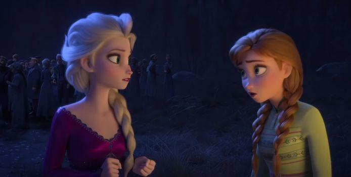 Een still uit Frozen 2.