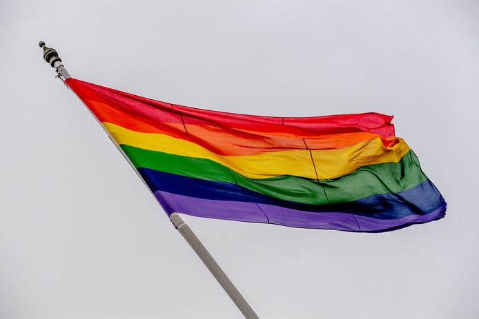 De regenboogvlag is al in verschillende gemeenten opgehangen als protest tegen de Nashville-verklaring