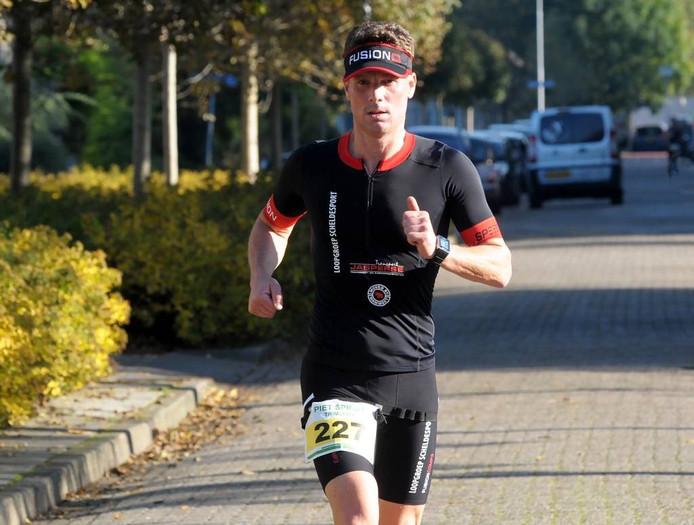 Dennis Florussen, hier deelnemer aan de Piet Spruitloop, verkeerde dit jaar in een uitstekende vorm.