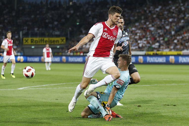 Huntelaar zorgde voor de 0-1.