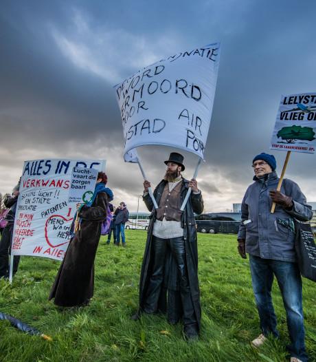 Vijf vragen over demonstratie tegen Lelystad Airport vandaag in Zwolle