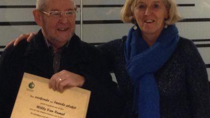 Gezinsbond zet Willy Van Rumst in de bloemetjes