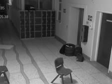 'Spook' gespot op bewakingsvideo Ierse school
