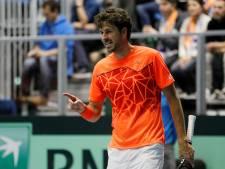 Oranje op 2-0 achterstand in Daviscup na ineenstorting Haase