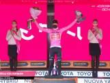 Bekijk hier hoe Wilco Kelderman de roze trui in de Giro d'Italia pakt