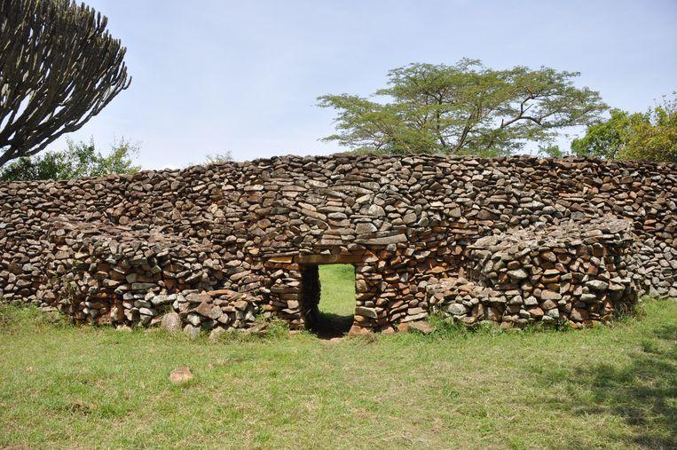 De archeologische site Thimlich Ohinga in Kenia.