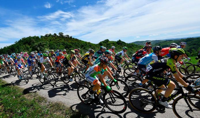 Beelden van de 10de etappe van de Giro.