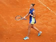 Pliskova houdt Bertens met toernooiwinst Rome uit mondiale top drie