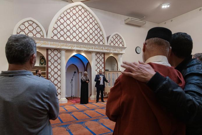 De Blauwe Moskee in Nieuw West.