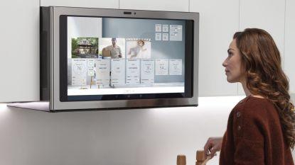 Binnenkort in de keuken: Netflix kijken boven het fornuis, Uber bellen via je koelkast en voedsel composteren