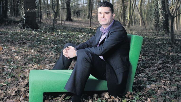Hans de Wolff, directeur retailbanking bij Triodos Bank. © Olaf Kraak Beeld