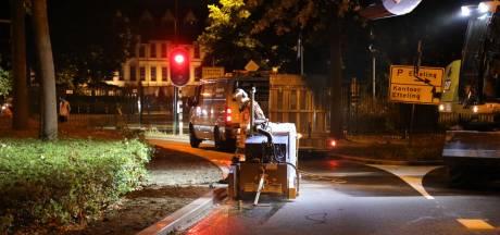 Aanleg uitwijkstrook voor hulpdiensten bij Efteling woensdagavond met spoed gestart