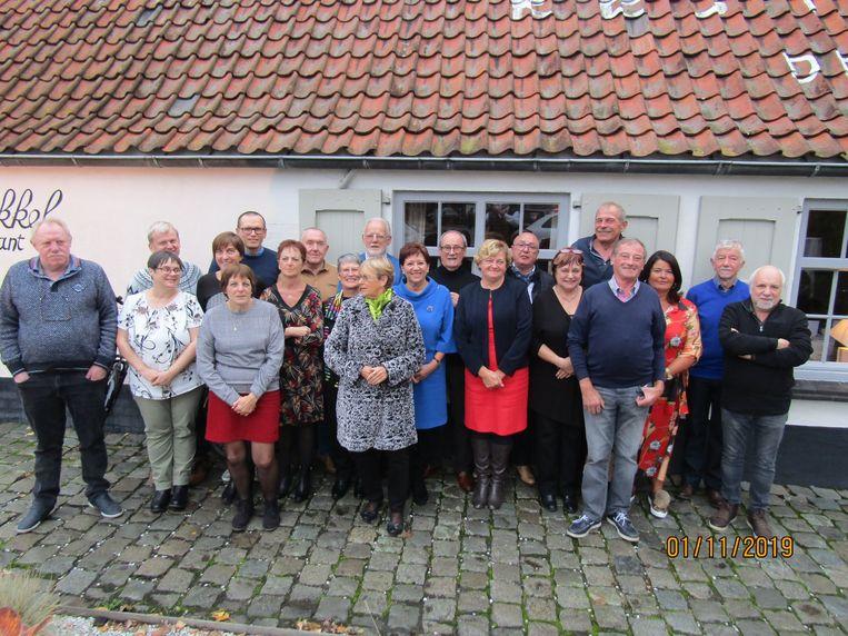 De familiereünie van de familie Veranneman vond op een heel bijzondere plek plaats