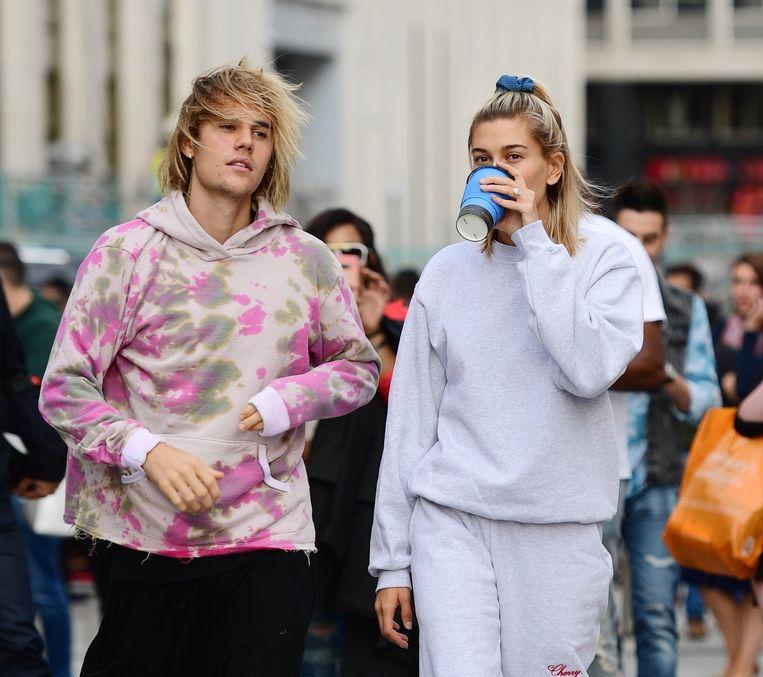Justin Bieber en Hayley Baldwin