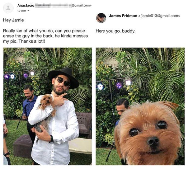 James Fridman Beeld Instagram