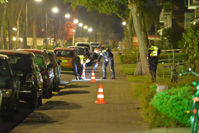 Politie doet onderzoek naar de steekpartij in Apeldoorn.