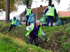 Schoon Wouw ruimt zelf het dorp op: 'We komen denk ik wel weer aan een zak of zeven'
