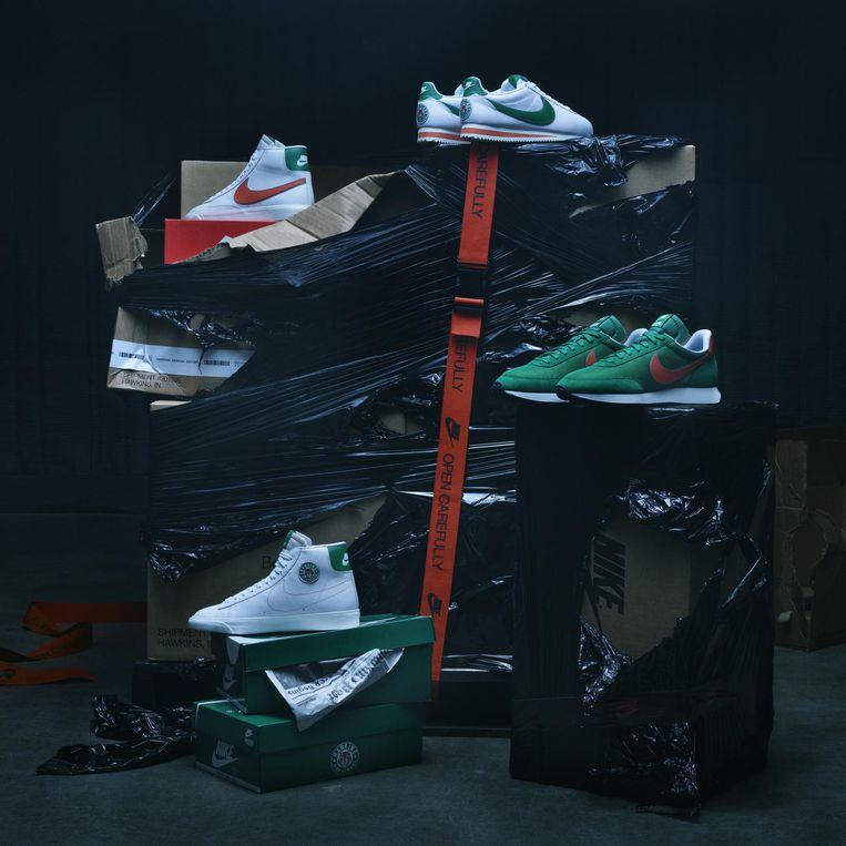 Een preview van de Stranger Things-collectie van Nike.