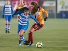 Sensationele zege PEC Zwolle Vrouwen tegen FC Twente: 4-2