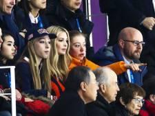 Esmee Visser naast Ivanka Trump op de tribune