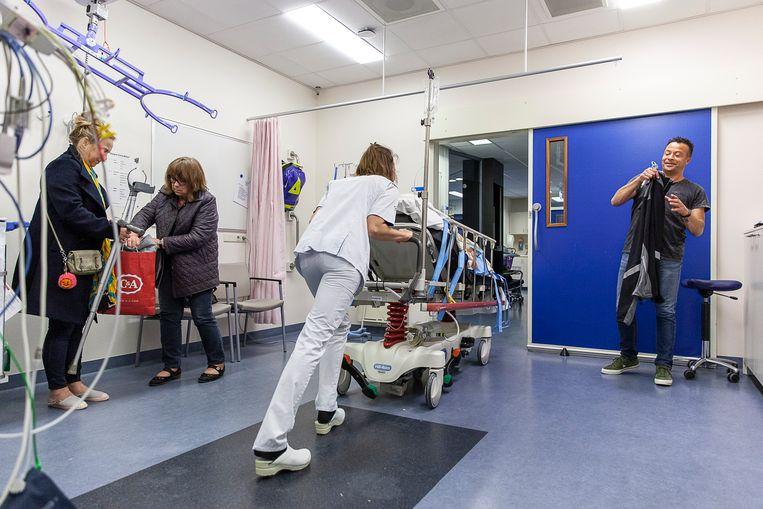 De Spoedeisende Hulp van het Wilhelmina Ziekenhuis in Assen. Beeld Harry Cock / de Volkskrant