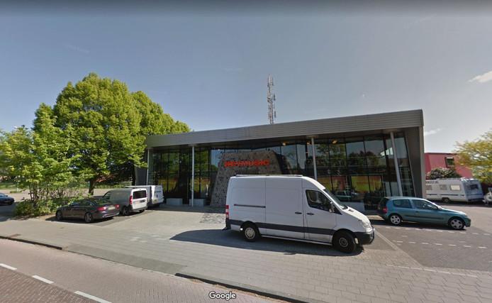 Het Eindhovense filiaal van Keymusic in Tongelre.