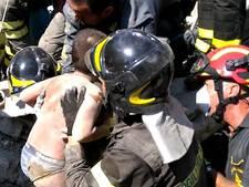 Redding van drie broertjes uren na aardbeving op Ischia