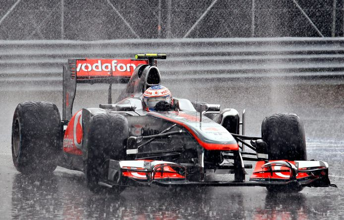 Jenson Button in 2011.
