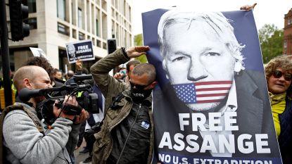 """""""Assange wordt niet uitgeleverd aan land waar hij doodstraf riskeert"""""""