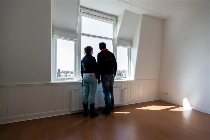 Foto ter illustratie: woningzoekenden