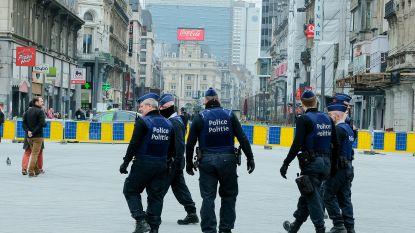 Brusselse politie stelde voorbije weekend 682 inbreuken op maatregelen vast