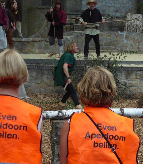 EHBO houdt oogje in het zeil bij try-out middeleeuws spektakel in Hertme