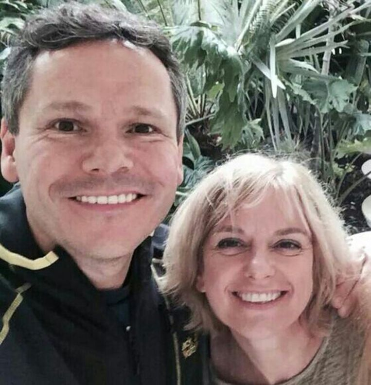 Erik Maas en Petra van Eldijk na een bezoek aan North Sea Jazz. De foto is aan de Volkskrant gestuurd door een familielid. Beeld -