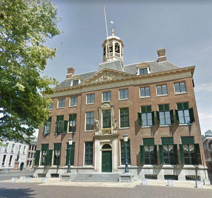 Het stadhuis van Leeuarden