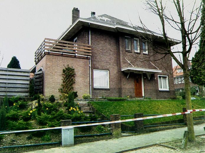 De woning van het slachtoffer.